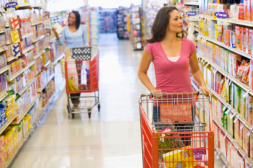 a discussion on consumer target strategy of grocery stores